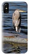 Heron IPhone Case