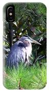 Heron On Pinetree IPhone Case