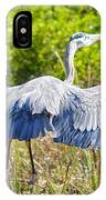 Heron On The Rise IPhone Case