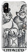 Herophilos, Erasistratus, Ancient Greek IPhone Case