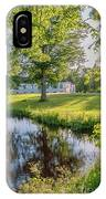 Herrevads Kloster By The Riverside IPhone Case