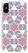 Hexagonal Flower Pattern IPhone Case