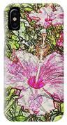 Hibiscus 101516 1a IPhone Case