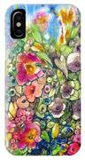 Hibiscus And Friends IPhone Case