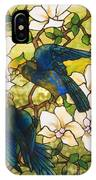 Hibiscus And Parrots IPhone Case