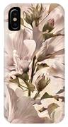 Hibiscus Apagado IPhone Case