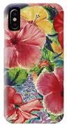 Hibiscus Impressions IPhone Case