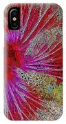 Hibiscus Stained Glass IPhone Case