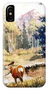 Hidden Babies     Doe And Fawns IPhone Case