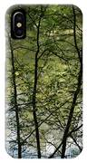 Hidden Pond Natural Fence IPhone Case