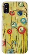 Hidden Poppies IPhone Case