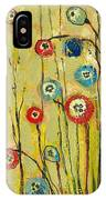 Hidden Poppies IPhone Case