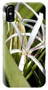 Hidden Swamp Lily IPhone Case