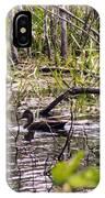 Hide And Seek Ducks IPhone Case
