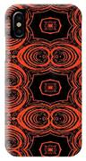 Hiding Behind A Red Mask IPhone Case