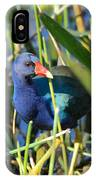 Hiding In The Wetlands IPhone Case