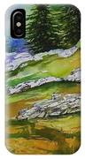 High Country Boulders IPhone Case