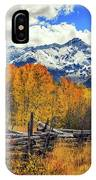 High County Ablaze IPhone Case