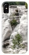 High Falls At Dupont Forest IPhone Case
