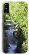 High Falls Gorge IPhone Case