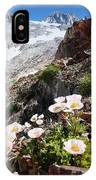 High Mountain Flowers IPhone Case