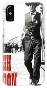 High Noon, Gary Cooper IPhone Case