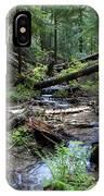 High On Mt. Spokane IPhone Case