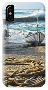 High Tide In Sennen Cove Cornwall IPhone Case