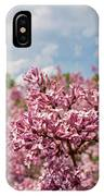 Highland Park Lilacs Detail Rochester Ny IPhone Case