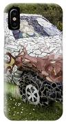 Highland Stoneware Car IPhone Case