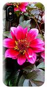 Highlands Ranch Floral Study 1 IPhone Case
