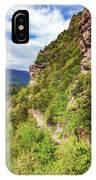 Hike Up Mt Iron Wanaka New Zealand IPhone Case