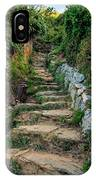 Hiking In Cinque Terre Italy IPhone Case