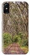Hiking On Rangitoto New Zealand IPhone Case