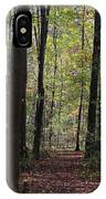 Hiking Trail Fall 2017 IPhone Case