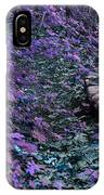 Hiking Trail Infrared IPhone Case
