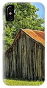 Hill Country Barn IPhone Case
