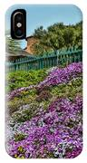 Hill Of Flowers IPhone Case