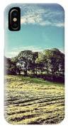 #hills #trees #landscape #beautiful IPhone Case