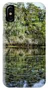 Hillsborough River Panorama 1 IPhone Case