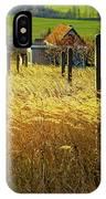 Hillside In Fall Jalaksova, Slovakia IPhone Case