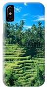 Hillside In Indonesia IPhone Case