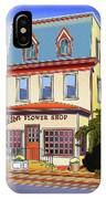 Hilton Flower Shop IPhone Case