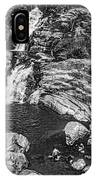Himalayan Bath Bw IPhone Case