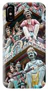 Hindu Temple Little India Singapore IPhone Case