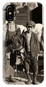 Hine: Child Labor, 1908 IPhone Case