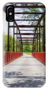 Hinkson Creek Bridge IPhone Case