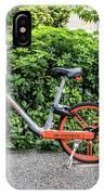 Hire Bike IPhone Case