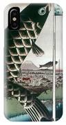 Hiroshige: Kites, 1857 IPhone Case