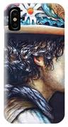 His Curls IPhone Case